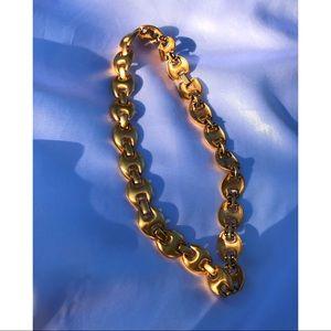 Vintage Filled Gold Monet Choker Necklace